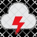 Cloudthunder Overcast Thunder Icon