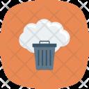 Cloudtrash Delete Dustbin Icon