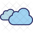 Clouds Forecast Puffy Cloud Icon