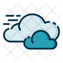Cloudy Cloudy Weather Cloud Icon