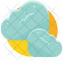Cloudy Clouds Icon