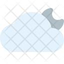 Cloudy Night Weather Icon