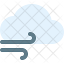 Cloudy Wind Weather Icon