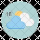 Sun Cloud Forecast Icon