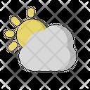 Day Sun Cloud Icon