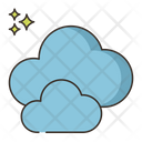 Cloudy Clouds Cloudy Weather Icon
