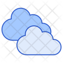 Cloudy Cloudy Weather Cloudy Sky Icon
