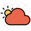 Sun Sunny Cloud Icon