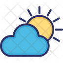 Cloud Weather Sun Icon