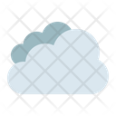 Cloud Cloudy Thick Icon
