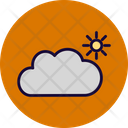 Cloudy Sunny Cloudy Sunrise Icon