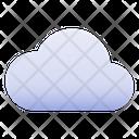 Cloudy Cloud Grey Icon