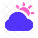 Cloudy Day Day Cloud Icon
