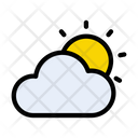 Cloudy Day Cloudy Cloud Icon