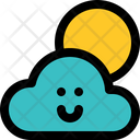 Cloudy Day Cloudy Bright Icon