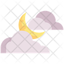 Cloudy Moon Cloudy Moon Icon