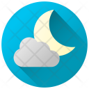 Cloudy Night Icon