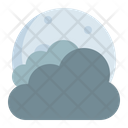 Moon Cloudy Thick Icon