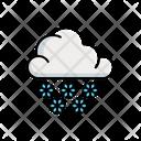 Cloudy Snow Icon