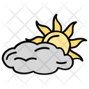 Weather Cloudy Day Daytime Icon