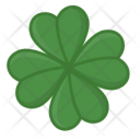 Clover Four Leaves Icon