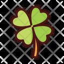 Clover Flora Floral Icon