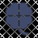 Clover Leaf Plant Icon