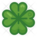 Clover Cloverleaf Happiness Icon