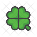 Clover Cards Slot Machine Sign Icon