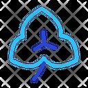Clover Leaf Illustration Icon