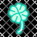 Clover Lucky Color Icon