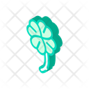 Clover Lucky Isometric Icon