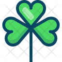 Clover Luck Nature Icon