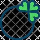 Clover Jewel Ring Icon