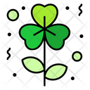 Clover Flower Botanical Icon