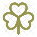 Clover St Patricks Day Luck Icon