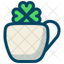 Clover Cup Drink Icon