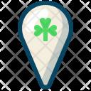 Clover Location Marker Icon