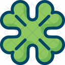 Clover Leaf Patrick Icon