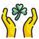 Clover Hand Icon