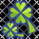 Clover Leaf Plant Luck Shamrock Spring Season Clover Leaf Clover Icon