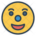 Clown Jester Circus Icon