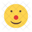 Clown Emoji Face Icon