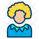 Bozo Clown Funny Icon