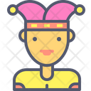 Clown Laugh Party Icon