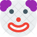 Neutral Clown Smiley Icon