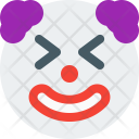 Clown With Closed Icon