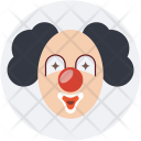 Clown Jester Joker Icon