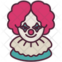 Clown Halloween Avatar Icon