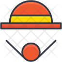 Clown Costume Hat Icon